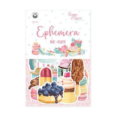 Sugar and Spice - ephemera - 12 db