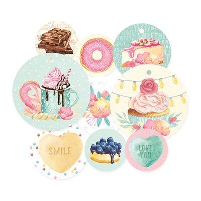 Sugar and Spice - dekorációs címkék 01 - 9 db