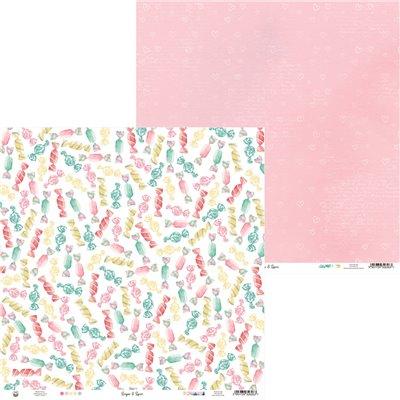 """Sugar and Spice - 12""""-es mini kollekció (6 db 2 oldalas papír + 1 db kivágóív)"""