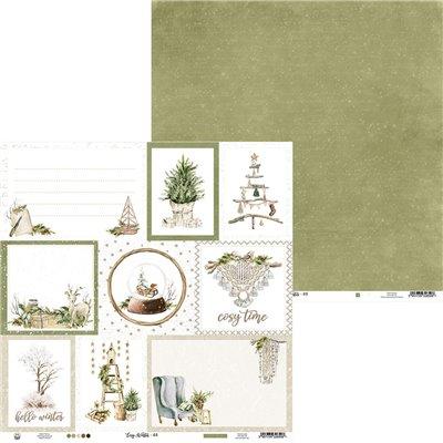 """Cosy Winter - 12""""-es maxi kollekció (12 db 2 oldalas papír + 2 db kivágóív)"""