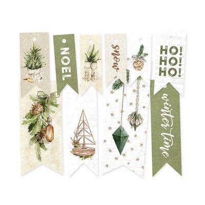 Cosy Winter - dekorációs címkék 02 - 10 db
