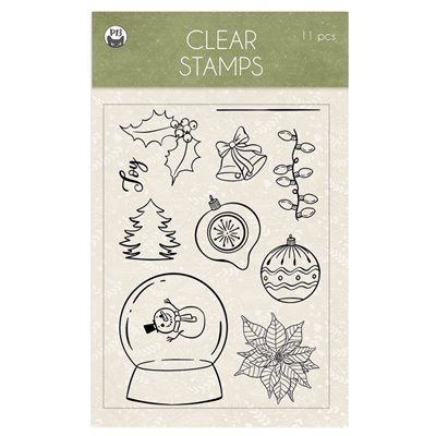 Cosy Winter - polimer bélyegző 01