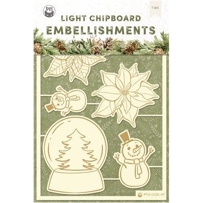 Cosy Winter - chipboard szett 04