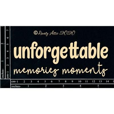 Unforgettable Memories/Moments