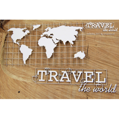 Travel the world - térkép