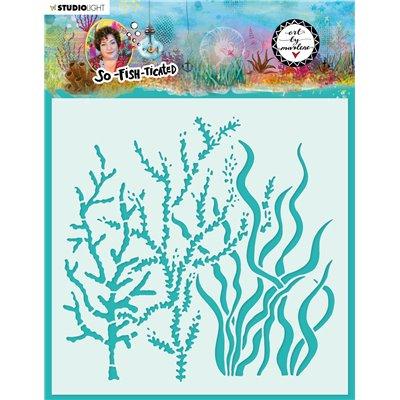 Art by Marlene - So Fish Ticated stencil nr.09