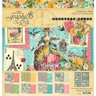 "Graphic 45 - Ephemera Queen kollekció (12x12"")"