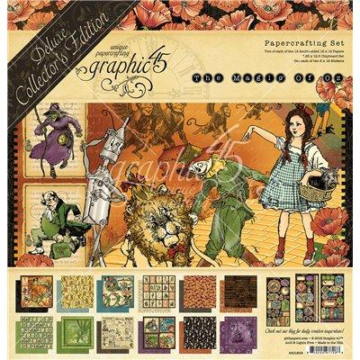 "Graphic 45 - Magic of Oz Deluxe kollekció (12"" x 12"")"