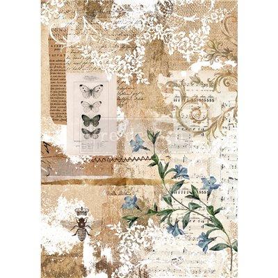 Re-Design with Prima Botanical Sonata Decor Rice Paper