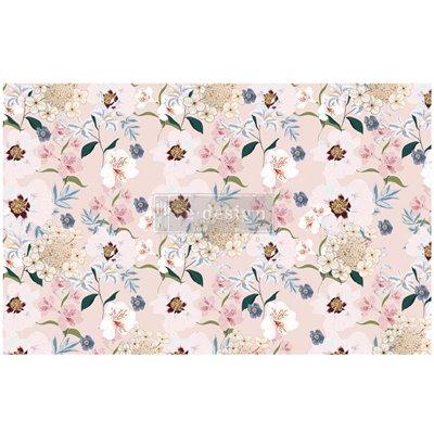 Re-Design with Prima Blush Floral 19x30 Inch Tissue Paper