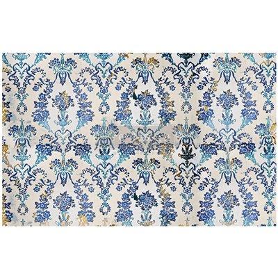Re-Design with Prima Cobalt Flourish 19x30 Inch Tissue Paper