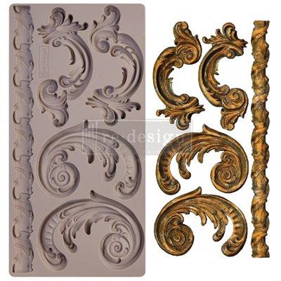 Prima Re-Design Szilikon öntőforma - Mould - Lilian Scrolls