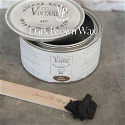 Dark Brown Wax 300 ml - JDL Vintage Paint
