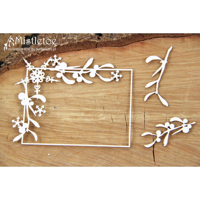 Mistletoe - téglalap keret