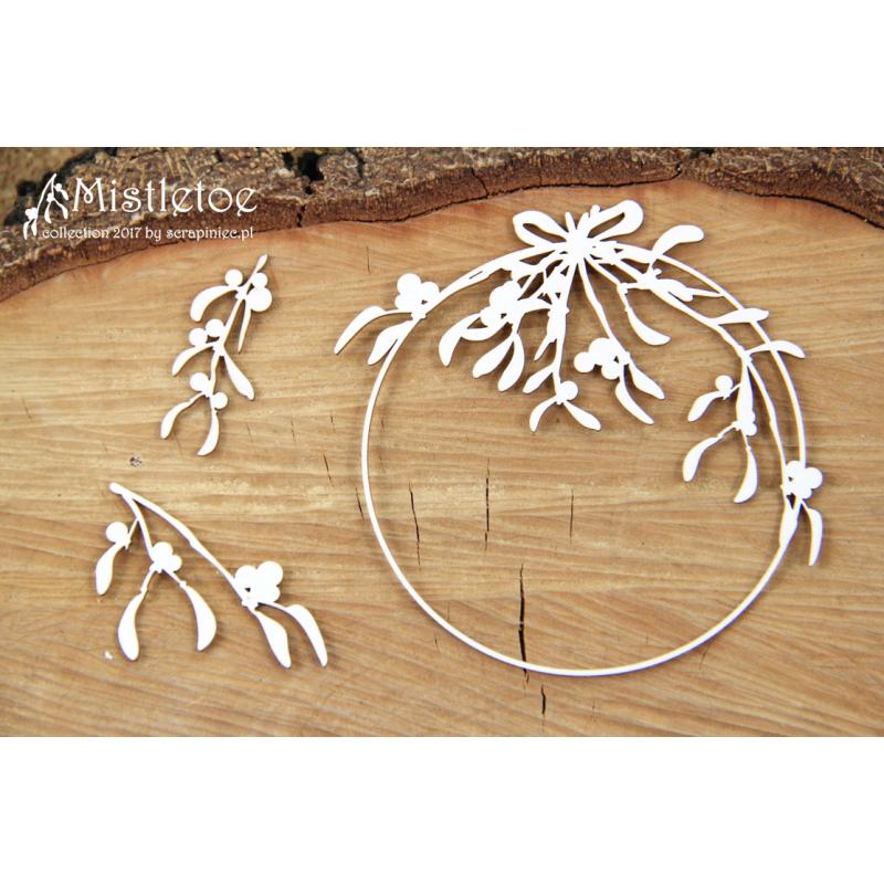 Mistletoe - kerek keret
