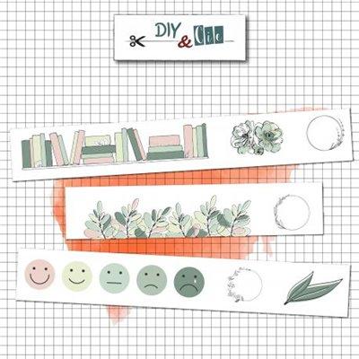 Temps libre washi tape - dekortapasz