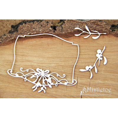 Mistletoe - jelölőtábla keret