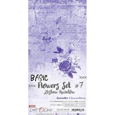 Flowers extra szett des.7