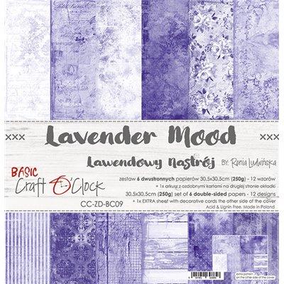 Lavender Mood - Basic set - papírkészlet 30,5x30,5cm