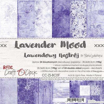 Lavender Mood - Basic set - papírkészlet 20,3 x 20,3 cm