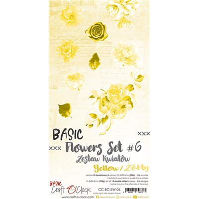 Flowers extra szett des.6