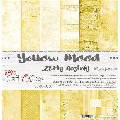Yellow Mood - Basic set - papírkészlet 30,5x30,5cm
