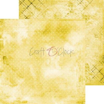 Yellow Mood - Basic set - papírkészlet 15,25 x 15,25 cm