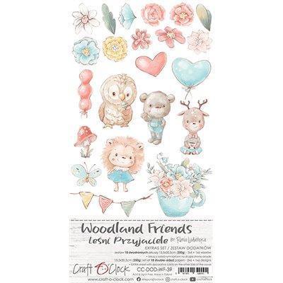 Woodland Friends extra szett