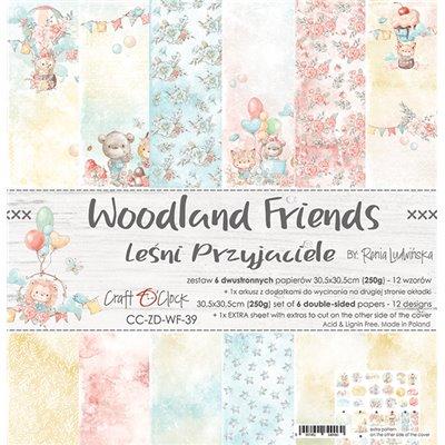 Woodland Friends - papírkészlet 30,5x30,5cm