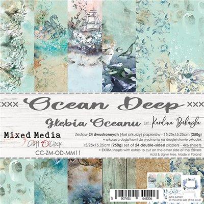 Ocean Deep - papírkészlet 15,25 x 15,25 cm