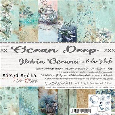 Ocean Deep - papírkészlet 20,3 x 20,3 cm