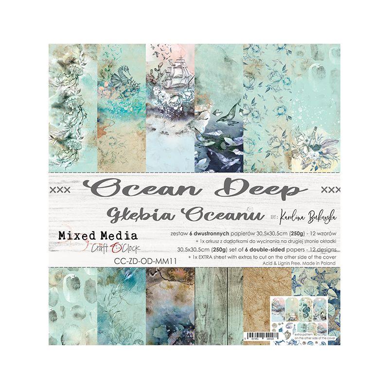 Ocean Deep - papírkészlet 30,5x30,5cm