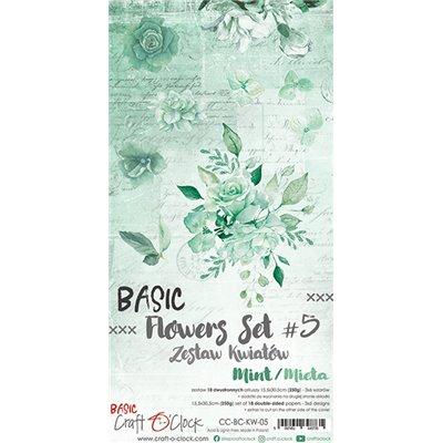 Flowers extra szett des.5