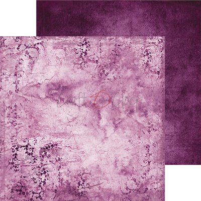Purple-fuchsia Mood - Basic set - papírkészlet 20,3 x 20,3 cm