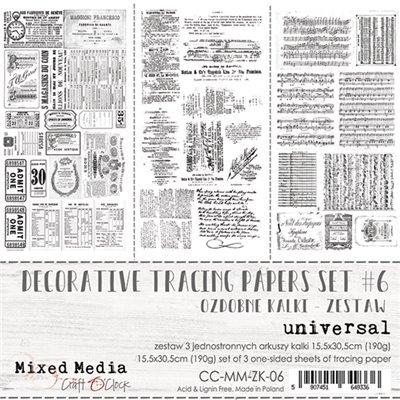 MM pauszpapír szett des.6 - Universal