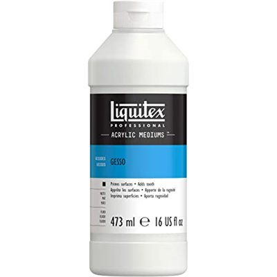 Liquitex Basic Acrylic Gesso - white