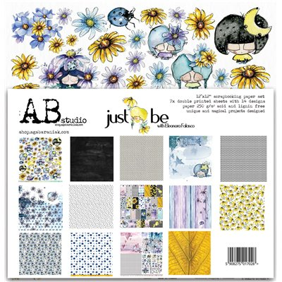 "Just be 12""-es scrapbook papír kollekció"
