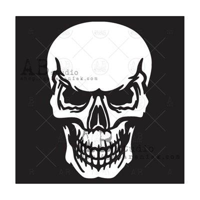 """Stencil ID-316 """"skull"""""""