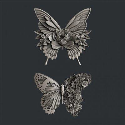 Zuri - Szilikon öntőforma - Mould - Butterfly Dance