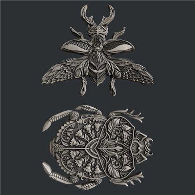Zuri - Szilikon öntőforma - Mould - Lovable Bugs