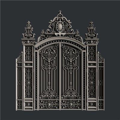 Zuri - Szilikon öntőforma - Mould - Ornate Gate