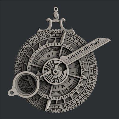 Zuri - Szilikon öntőforma - Mould - The Astrolabe