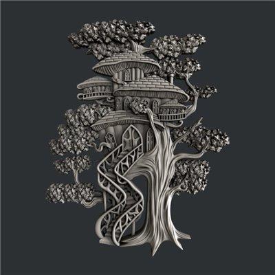 Zuri - Szilikon öntőforma - Mould - Tree House