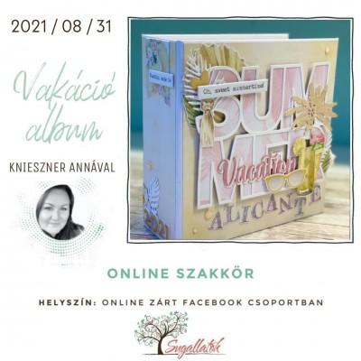 ONLINE SZAKKÖR - vakációs album
