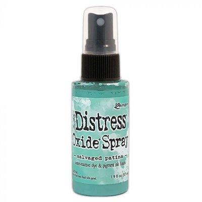 Tim Holtz Distress Oxide Spray - Salvaged patina