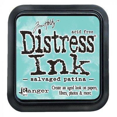 Tim Holtz Distress Ink tintapárna - Salvaged patina