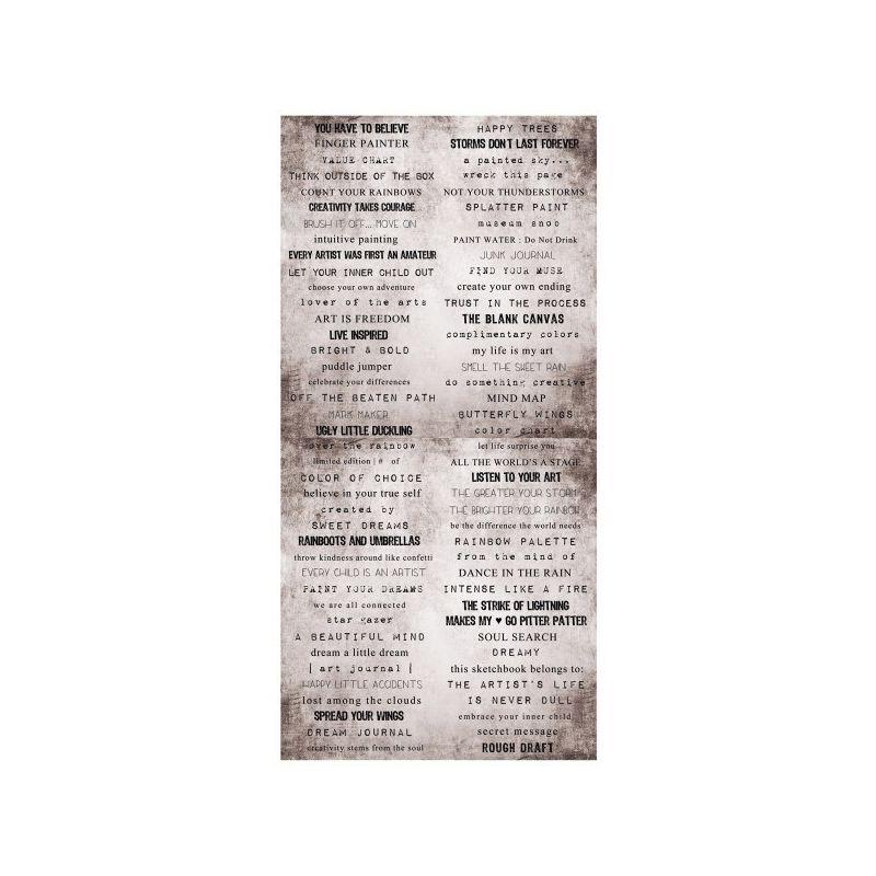 Paint Chips szómatrica 6x12