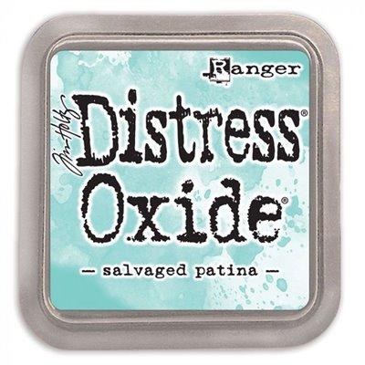 Tim Holtz Distress Oxide tintapárna - Salvaged patina