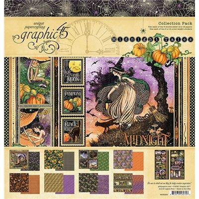 """Graphic 45 - Midnight Tales kollekció (12x12"""")"""
