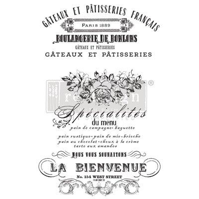 Re-Design with Prima French Specialties 24x35 Inch transzferfólia